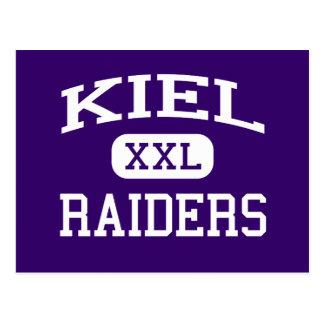 Kiel - Raiders - Kiel High School - Kiel Wisconsin Postcard