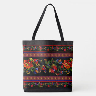 Kiev Black Tote Bag