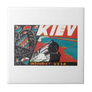 Kiev Intourist USSR Tile