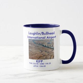 KIFP laughlin Bullhead Intl Airport Mug