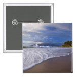 Kihei Beach, Maui, Hawaii, USA 15 Cm Square Badge