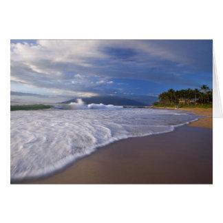 Kihei Beach, Maui, Hawaii, USA Card