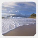 Kihei Beach, Maui, Hawaii, USA Square Sticker