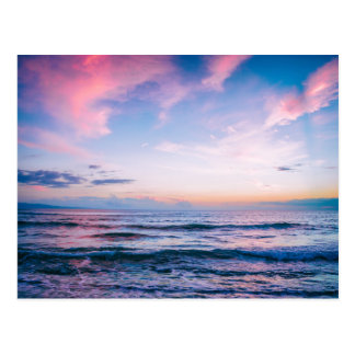 Kihei Sunset, Maui, Hawaii   Postcard