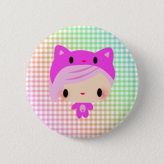 Kiki-Chan 6 Cm Round Badge