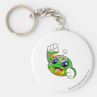 Kiko Disco Basic Round Button Key Ring