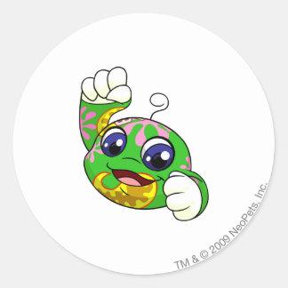 Kiko Disco Round Sticker