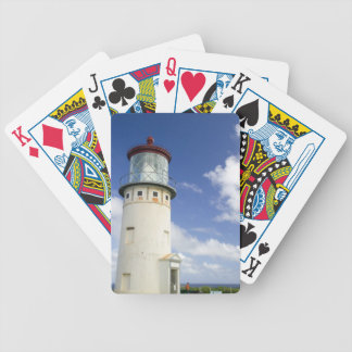 Kilauea Lighthouse Bicycle Playing Cards