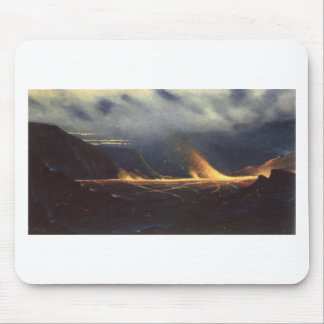 'Kilauea', oil on canvas painting Mouse Pad