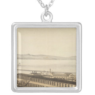 Kilburn and Gates Cottage furniture manufactory Silver Plated Necklace