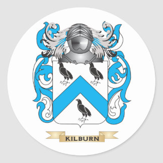 Kilburn Coat of Arms (Family Crest) Stickers