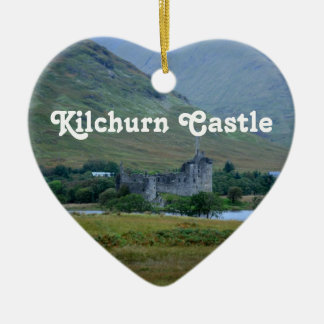 Kilchurn Castle Christmas Ornament