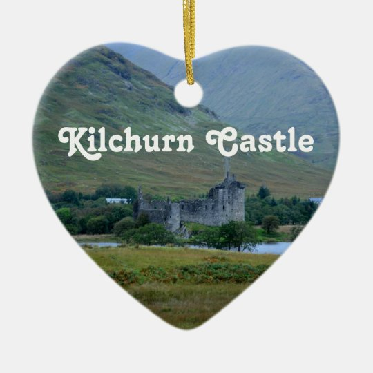 Kilchurn Castle Christmas Ornament