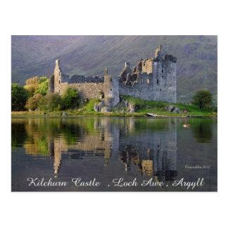 Kilchurn Castle Postcard