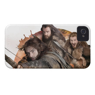 Kili, THORIN OAKENSHIELD™, and Fili iPhone 4 Cover