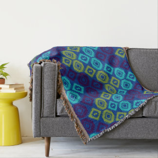 Kilim Throw Blanket