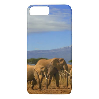 Kilimanjaro And Elephants iPhone 8 Plus/7 Plus Case
