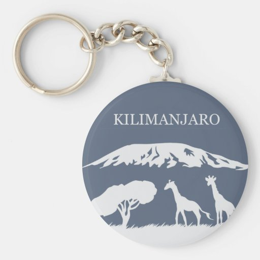 Kilimanjaro (Blue) Keychains