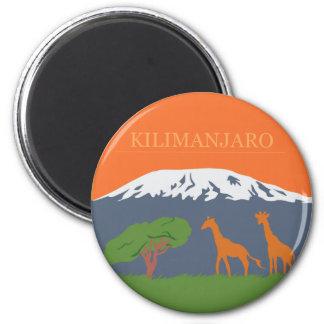 Kilimanjaro 6 Cm Round Magnet