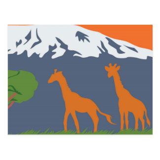 Kilimanjaro Postcard