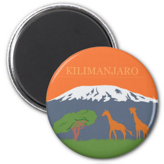 Kilimanjaro Refrigerator Magnets