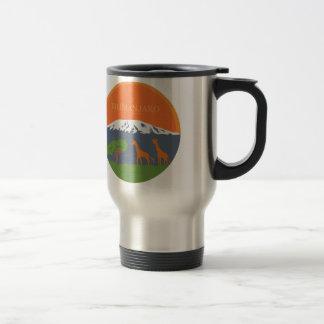 Kilimanjaro Stainless Steel Travel Mug