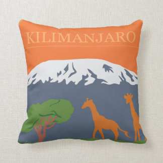 Kilimanjaro Throw Pillow