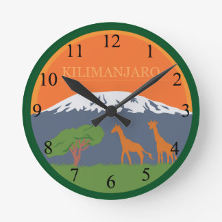 Kilimanjaro Wallclocks