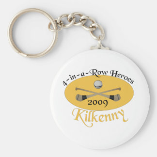Kilkenny 4-in-a-Row Commemorative Basic Round Button Key Ring