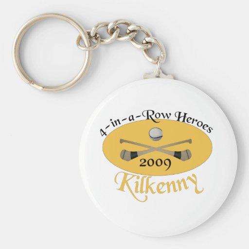 Kilkenny 4-in-a-Row Commemorative Key Chain