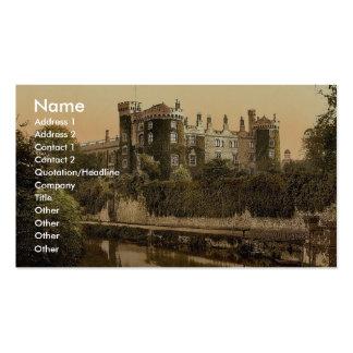 Kilkenny Castle. Co. Kilkenny, Ireland magnificent Business Card Templates