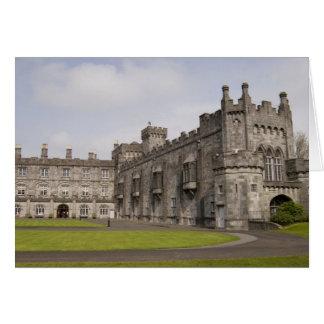 Kilkenny Castle County Kilkenny Ireland Greeting Cards