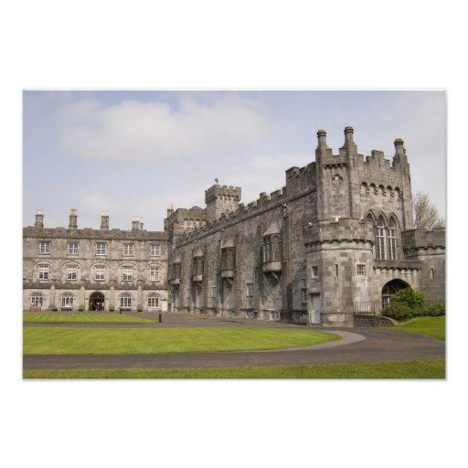 Kilkenny Castle, County Kilkenny, Ireland. Art Photo