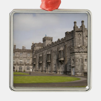Kilkenny Castle, County Kilkenny, Ireland. Silver-Colored Square Decoration