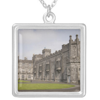 Kilkenny Castle, County Kilkenny, Ireland. Silver Plated Necklace