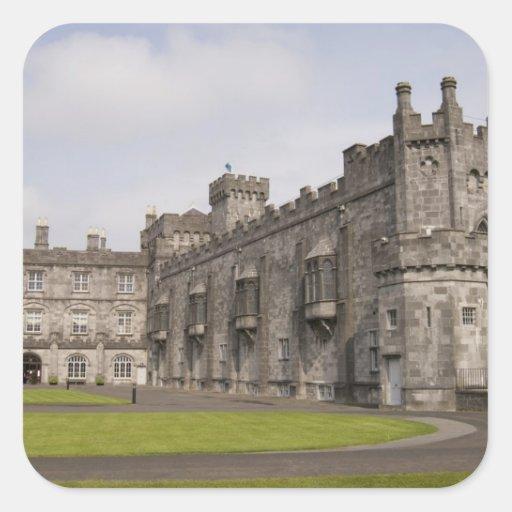 Kilkenny Castle, County Kilkenny, Ireland. Square Stickers