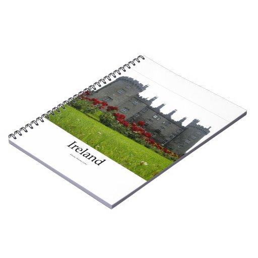 Kilkenny Castle, Ireland Spiral Note Book