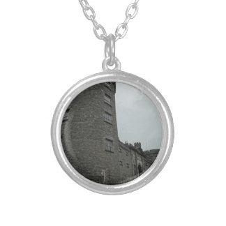 Kilkenny Castle Ireland Round Pendant Necklace