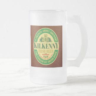 Kilkenny Frosted Glass Mug