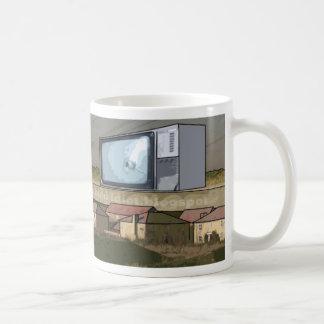 kill tv basic white mug