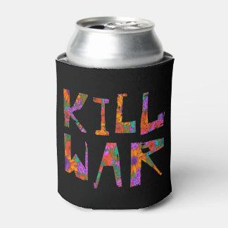 Kill War (Flower Power) Can Cooler