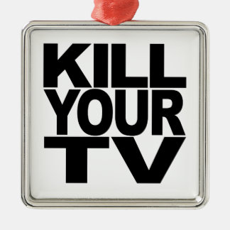 Kill Your TV Christmas Ornament