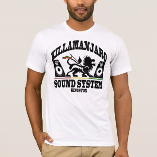 Killamanjaro Sound System Kingston Jamaica Vintage T-Shirt