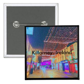 Killarney at Night 15 Cm Square Badge