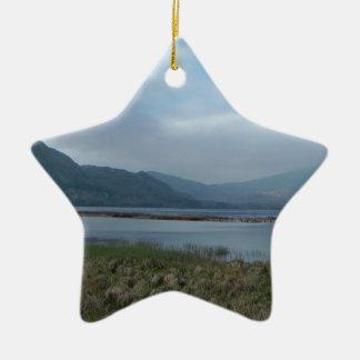 Killarney Ireland Ceramic Star Decoration