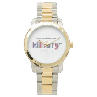 Killary Crooked Hillary Clinton Benghazi TRUMP USA Wristwatch