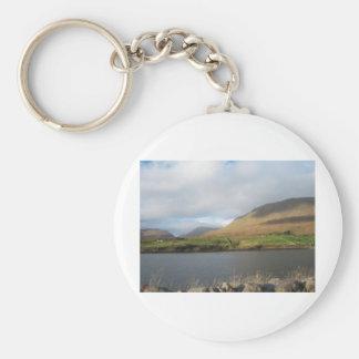 Killary Fjord Basic Round Button Key Ring