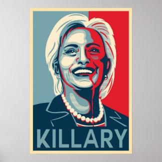Killary - Hillary Clinton Poster