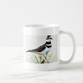 Killdeer  flowers basic white mug