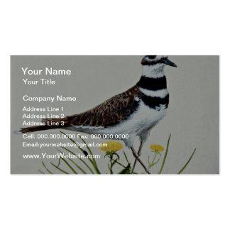 Killdeer  flowers pack of standard business cards